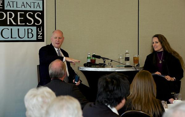 Atlanta Press Club conversation with Jeffrey Sprecher, Chairman and CEO of Intercontinental Exchange.