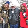 Omaha Camera Club members Brian Alspaugh, George Sinos and Sue Baxter.
