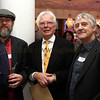 Ethan Johns, Glyn Johns and APRS Chairman Malcolm Atkin at the APRS Sound Fellowship Awards Nov 22, 2011.