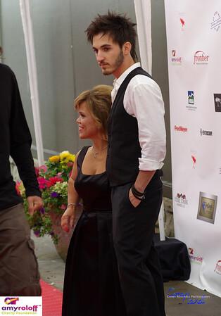 Tony Dimitri Peniche with Amy