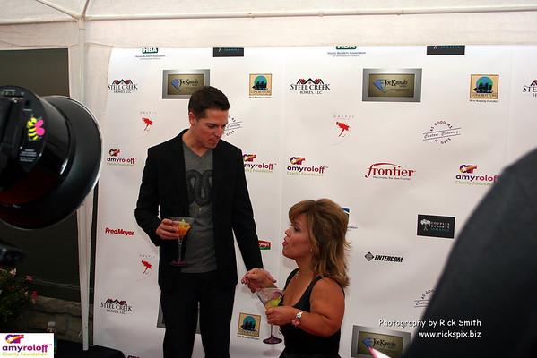 Jason Kennedy and Amy
