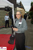 Photographer Rick Smith taking a break during Amy's red carpet photo shoots