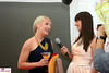 Jessica Burns being interviewed by Jillian Rabe