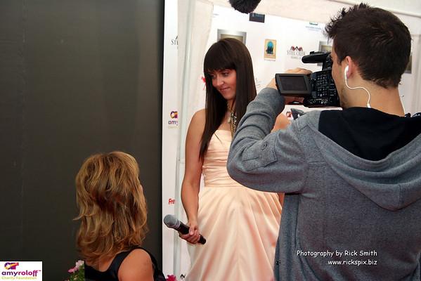 Jillian Rabe interviewing Amy