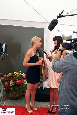 Jillian Rabe interviewing Jessica Burns