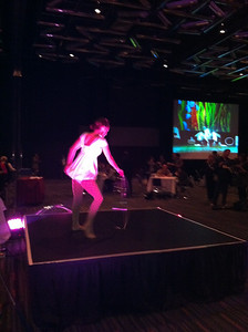 Cirque Éloize performs at the ICHG/ASHG 2011 Opening Ceremony and Opening Reception