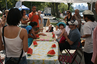 ASTORIA PARK SHORE FEST 2012 Watermelon Eating Contest