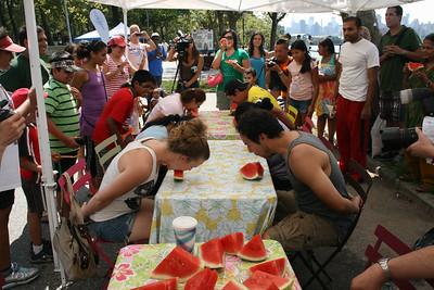 ASTORIA PARK SHORE FEST 2012 Watermelon Eating Contest