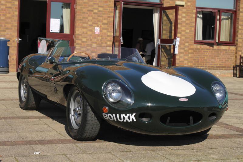 1950s Jaguar D Type racing car at the ATCCC Putteridge Bury Classic Car Show 2011