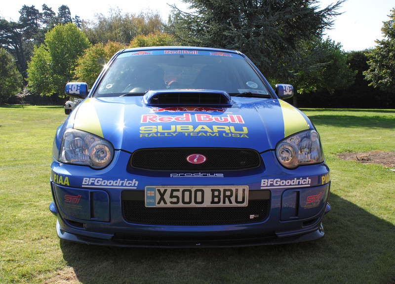 Subaru Impreza rally car at the ATCCC Putteridge Bury Classic Car Show 2011