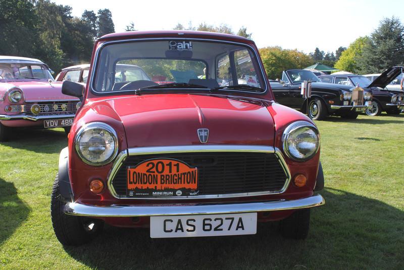 1963 Mini at the ATCCC Putteridge Bury Classic Car Show 2011