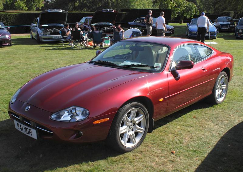 1996 Jaguar XK8 at the ATCCC Putteridge Bury Classic Car Show 2011