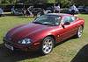 1996 Jaguar XK8 at the ATCCC Putteridge Bury Classic Car Show 2011