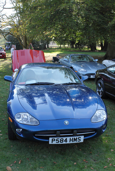 1997 Jaguar XK8 at the ATCCC Putteridge Bury Classic Car Show 2011