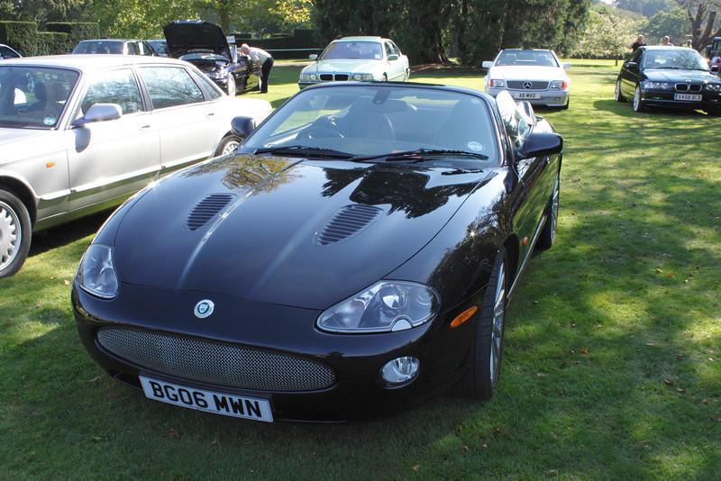 Jaguar XKR convertible at the ATCCC Putteridge Bury Classic Car Show 2011