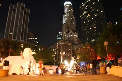 AUTUMN LIGHTS LA 2010 @ PERSHING SQUARE