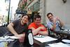 Half the crew (Pong, Beni, John)