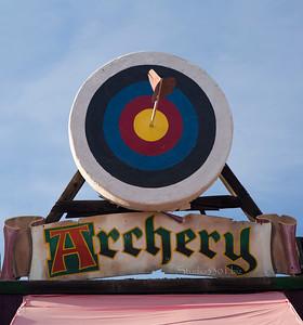Archery sign 8620