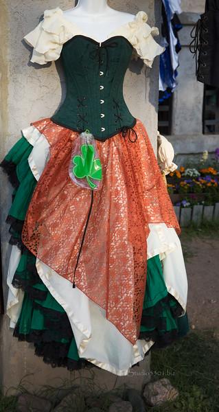 St Pat's Day dress 8682