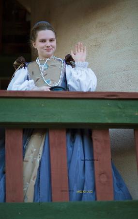 Girl in costume above7435