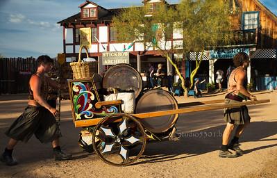 Pushing a cart 8635