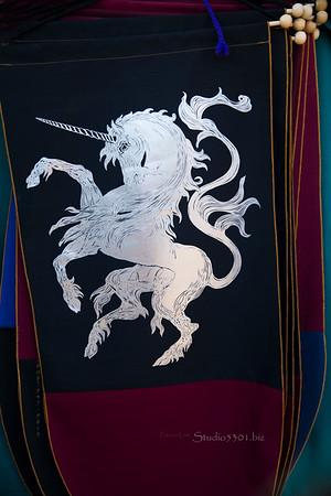 unicorn fabric banners 8555
