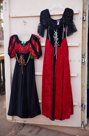 Renaissance Red & Blk dresses 8558