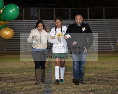 Acadiana High Girls Senior Night 2018