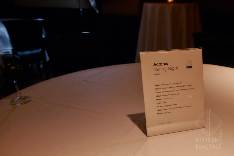 Acronis, Storage, F1 Media Event