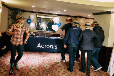 Acronis, Storage, F1 Media Event