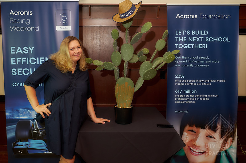 Acronis, Storage, F1 Media Event, III Forks, Austin, Texas