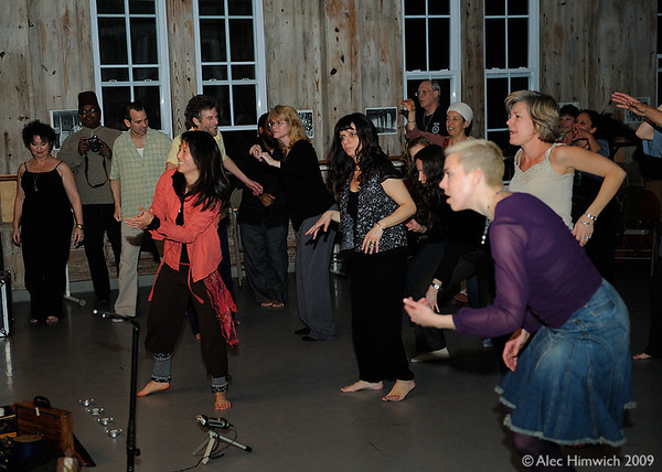Dance party with world music<br /> Across the Threshold<br /> Duke University<br /> Durham, NC<br /> March 20, 2009