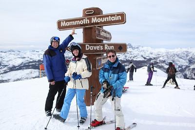 George, Nancy, Peter - at the top