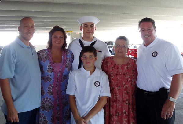 Adam Graduation Great Lakes Naval Training Center, Waukegan IL August 3, 2012