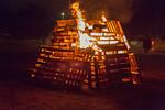 Torchlight parade and bonfire for National Aboriginal Addictions Awareness Week.
