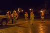 Torchlight parade and bonfire for National Aboriginal Addictions Awareness Week.