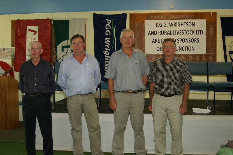 Pic 7323 Elders<br /> Doug McQueen, Peter Guarde, Gerald Lemon, Greame Munro