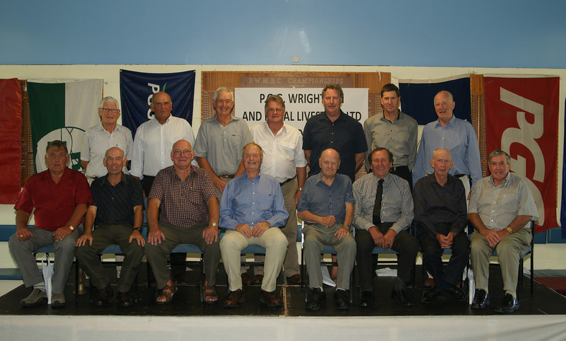 Pic 7304 NZ Farmers Co-op<br /> Standing Merv Inwood, Rob Yates, Gerald lemon, Colin Cameron, Graham McLeod, Paul Gnad, John Prosser, <br /> Front Row Neil Escott, Peter McClatchey, Alex renton, Richard Glubb, Maurice Denton, Keith Mcfarlane, Doug McQueen, Alan Johns