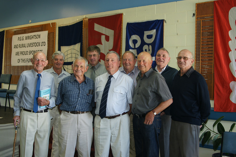 Pic 7276 Erroll Davidson, Bruce Pugh, Peter Heyward, John Honeybone, Fred Fowler, John Reid, Geoff Hill, Hugh Jones, Murray Gaylor