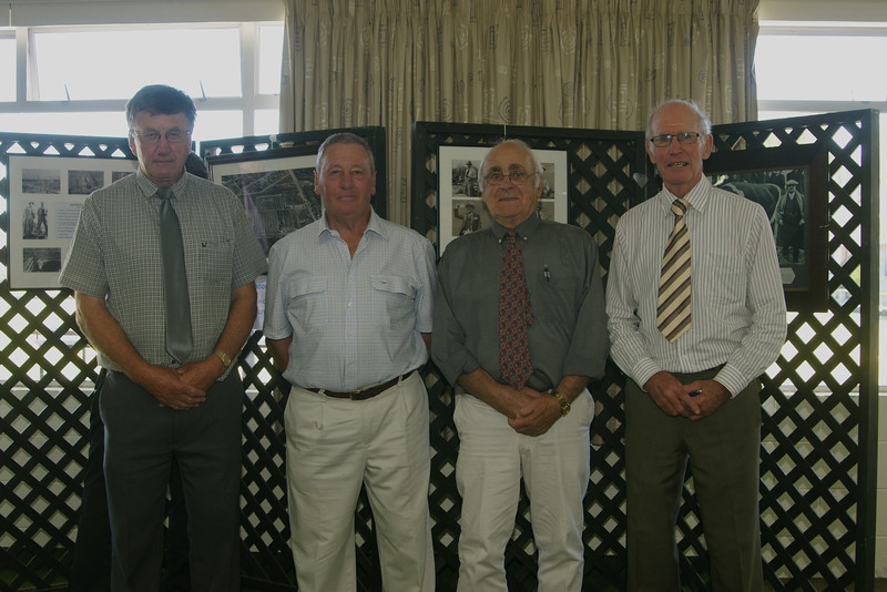 Pic 7328 <br /> John Honeybone, Fred Fowler, Robin Leech, Bruce Johnston