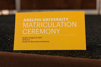 August 27th 2017 | Adelphi Matriculation Ceremony. Copyright: Chris Bergmann Photography
