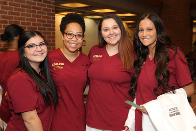 Adelphi White Coat Ceremony | Credit: Chris Bergmann Photography