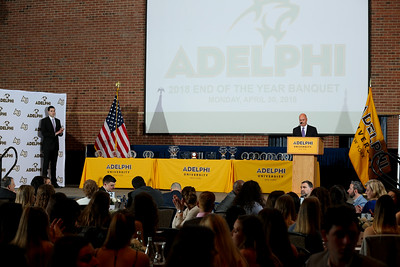 Adelphi 2018 Athletics Awards Banquet | Copyright: Chris Bergmann Photography