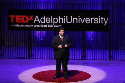 Adelphi 2018 TEDx - Benjamin Dynkin   Credit: Chris Bergmann Photography