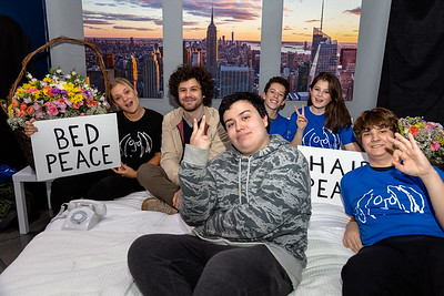 2018_10_17, Adorama, Bed, Bed In, New York, NY, Photo Booth, Leah Pilon, Michael Angelakos