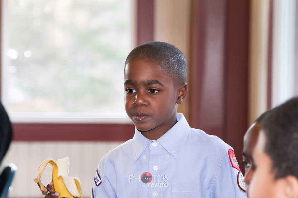 Banana Joe getting a hair cut!