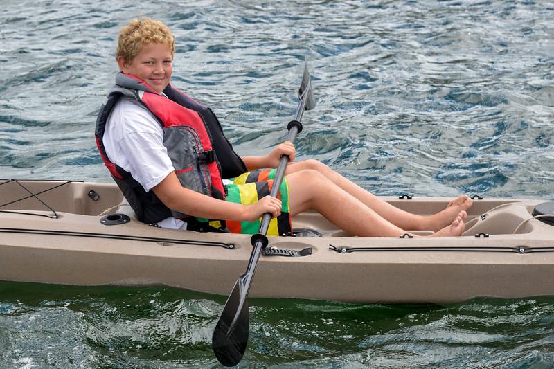 Dan the Man, Jamestown, R.I. August 2014 Adventure Watersports Customers Summer 2014