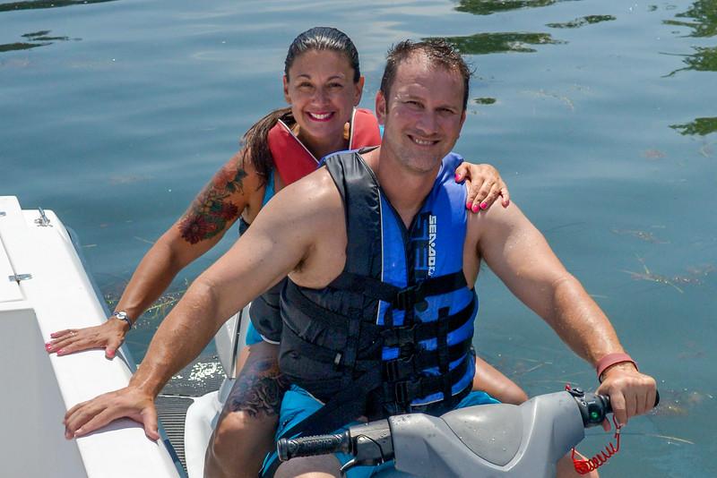 Returning Jet Ski Rental at Adventure Watersports