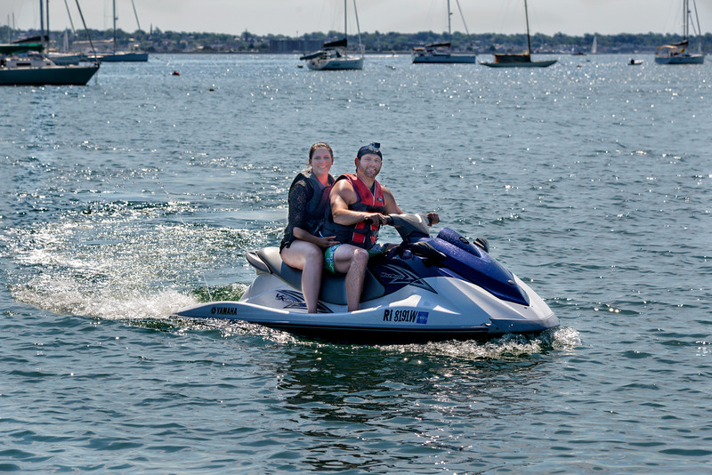 Go Pro Jet Ski rental at Adventure Watersports, Jamestown, Rhode Island