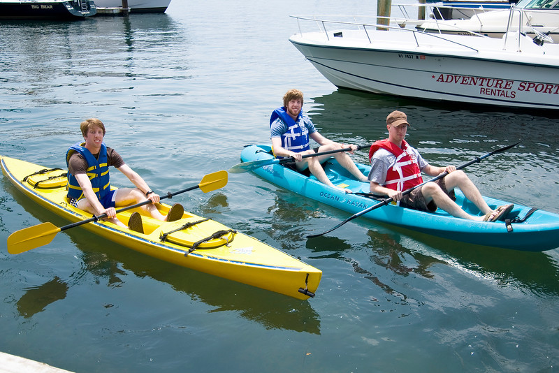 Kayak Rentals @ Adventure Watersports